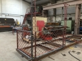 Setting out and fabrication of Balcony framework in progress at the workshop