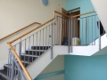 Internal staircase balustrade for Flats in Bridgwater