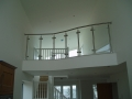 Glass and stainless steel mezzanine balustrade...