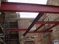 ...using structural steel framework assembly