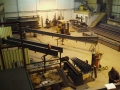 Fabricating Structural Steel in our workshop